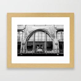 Art Nouveau in Antwerp Framed Art Print