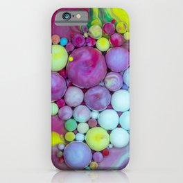 Bubbles Art Jaco iPhone Case