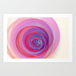 Ring Nebula Art Print