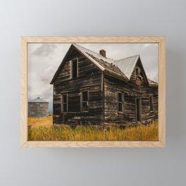 Abandoned House Idaho, United States Framed Mini Art Print