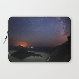 Crater Lake Galaxy Laptop Sleeve