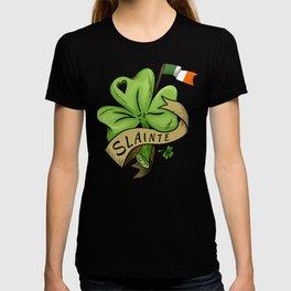 Slainte- Irish Shamrock T-shirt