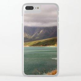 Western Cape Coastal Landscape Clear iPhone Case