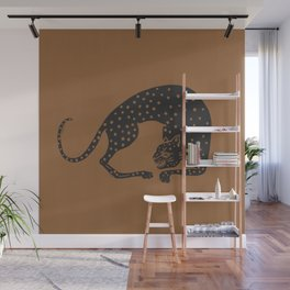 Blockprint Cheetah Wall Mural