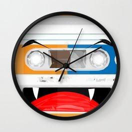 The cassette tape Vampire Wall Clock
