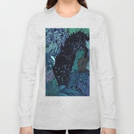 The Jungle at Night Colour Version Long Sleeve T-shirt
