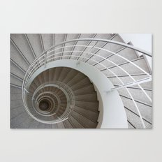the spiral (architecture) Canvas Print