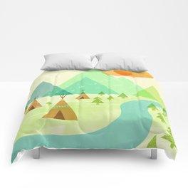 Native Lands Comforters