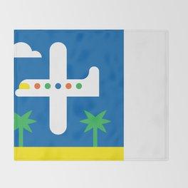 Airplane Throw Blanket