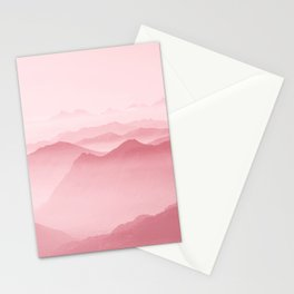 Pink Forest Stationery Cards