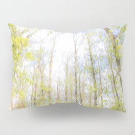 Colorful trees photography - Watercolor series #2 Pillow Sham