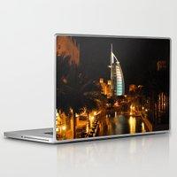 arab Laptop & iPad Skins featuring Burj Al Arab Hotel - Dubai by Graham Taylor Photography Services