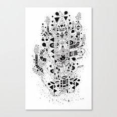 UNREAL 7 Canvas Print