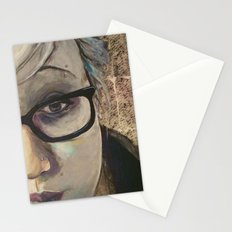 Smart Girl At The Party Stationery Cards