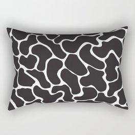 80s Memphis Cow Rectangular Pillow