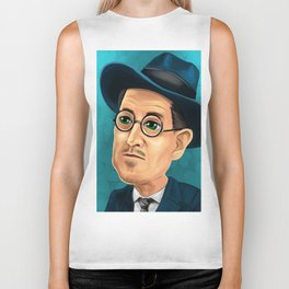 James Joyce Biker Tank