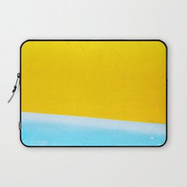 Sea & Sand Watercolor painting Abstract Laptop Sleeve