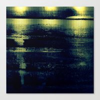metallic Canvas Prints featuring metallic by agnes Trachet