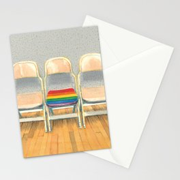 Rainbow Chair Stationery Cards