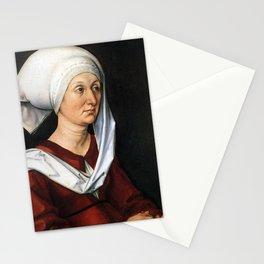 Portrait of Barbara by Albrecht Dürer Stationery Cards