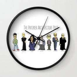 Pritzker 1 Wall Clock