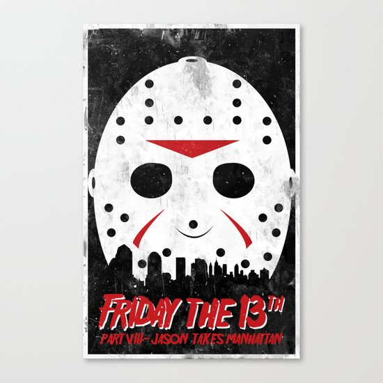 Friday The 13th Part VIII Canvas Print