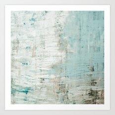 bluish green Art Print