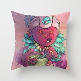 Voodoo Queen Throw Pillow