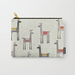Llamas in the Meadow Carry-All Pouch