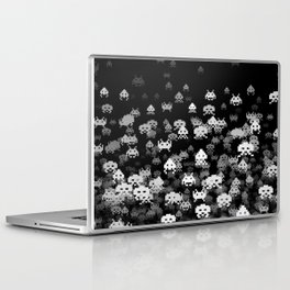 Invaded BLACK Laptop & iPad Skin
