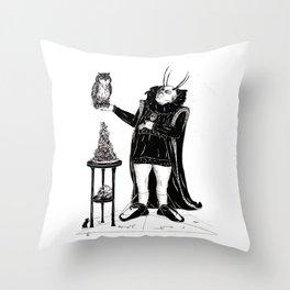 Baron's Favourite Bird Throw Pillow