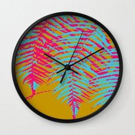 colorful tropics Wall Clock