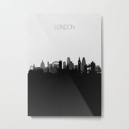 City Skylines: London Metal Print