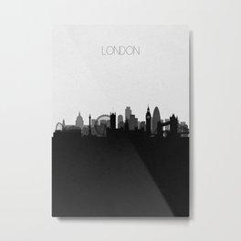 City Skylines: London Metal Print