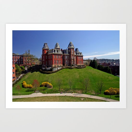 West Virginia University Art Print
