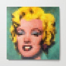 Marilyn Still Alive ? Metal Print