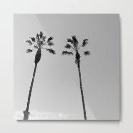 Winter Palms Metal Print
