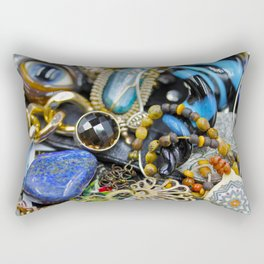 Jewelry Cluster 2 Rectangular Pillow