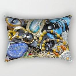 Jewelry Cluster 2 Rectangular Pillow
