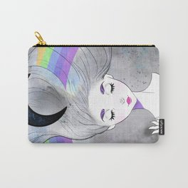 Rainbow Moonstone Carry-All Pouch