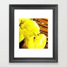 Amarillo Animal Framed Art Print