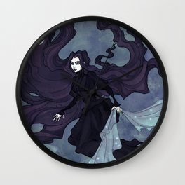 The Night Is Coming Wall Clock