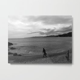 Into The Sand Metal Print