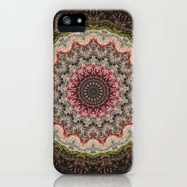 Trichome Crystal Portal iPhone Case