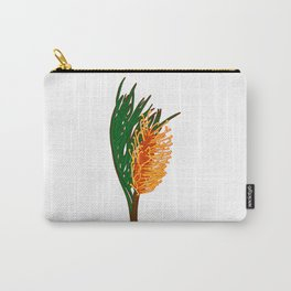 Australian Native Floral Illustration - Beautiful Banksia Flower Carry-All Pouch