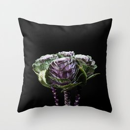 Funny flowers. Throw Pillow