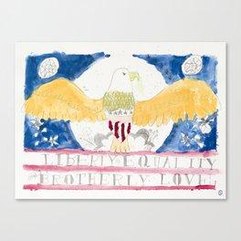 liberty eagle Canvas Print