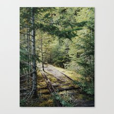 Abandoned Railroad Canvas Print