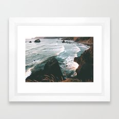 Oregon Coast IV Framed Art Print
