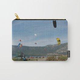 Kitesurfing at Akcapinar, Gokova Akyaka, Turkey Carry-All Pouch